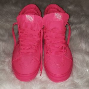 NWT- VANS- Hot pink
